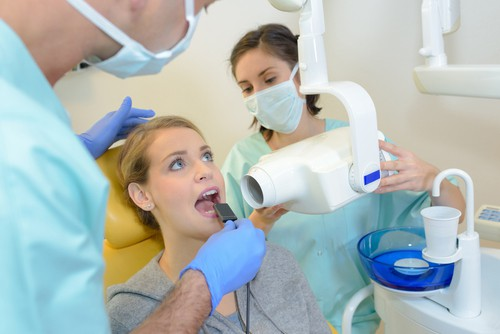 getting dental xrays